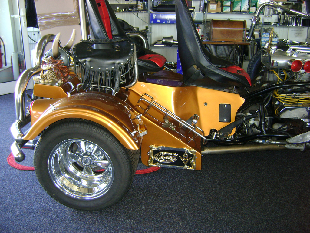Custom Trike brown